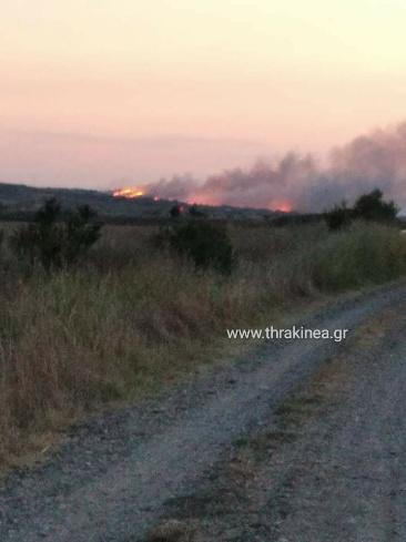 Πριν λίγο: Φωτιά μεταξύ Φυλακίου και Κεράμου